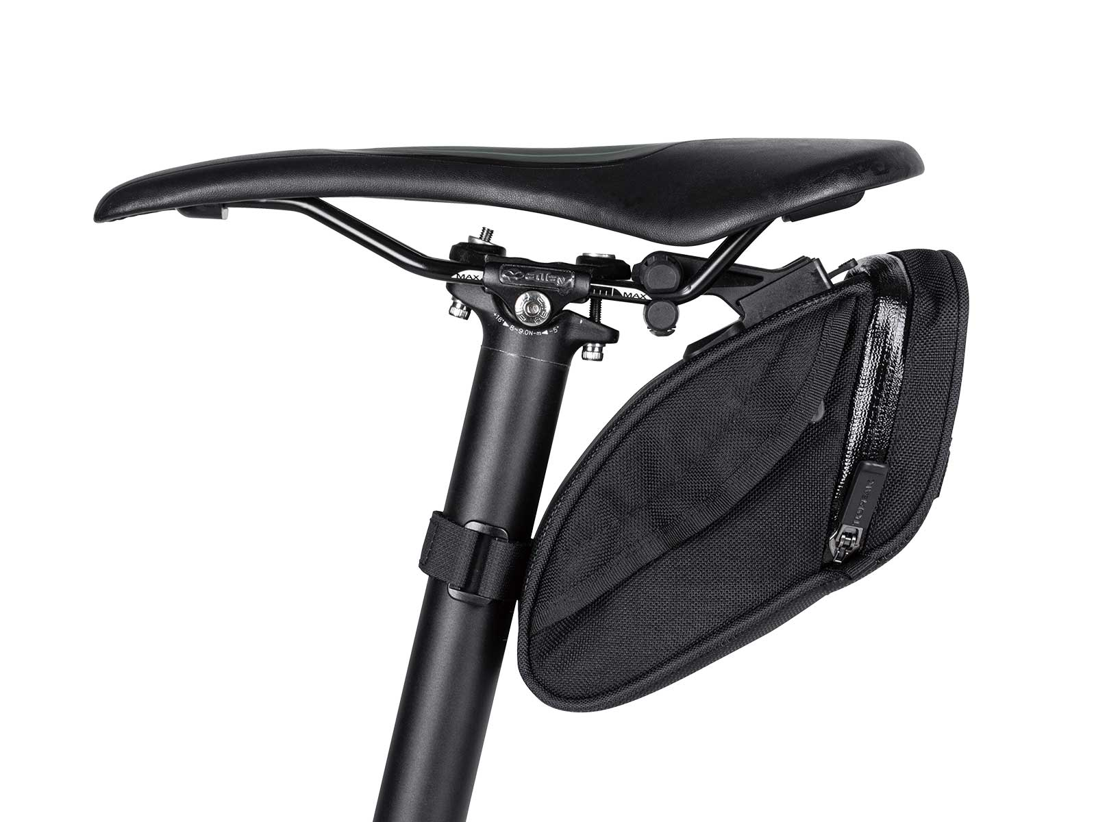 Medium Topeak Aero Wedge DX Seat Bag with Mount Black