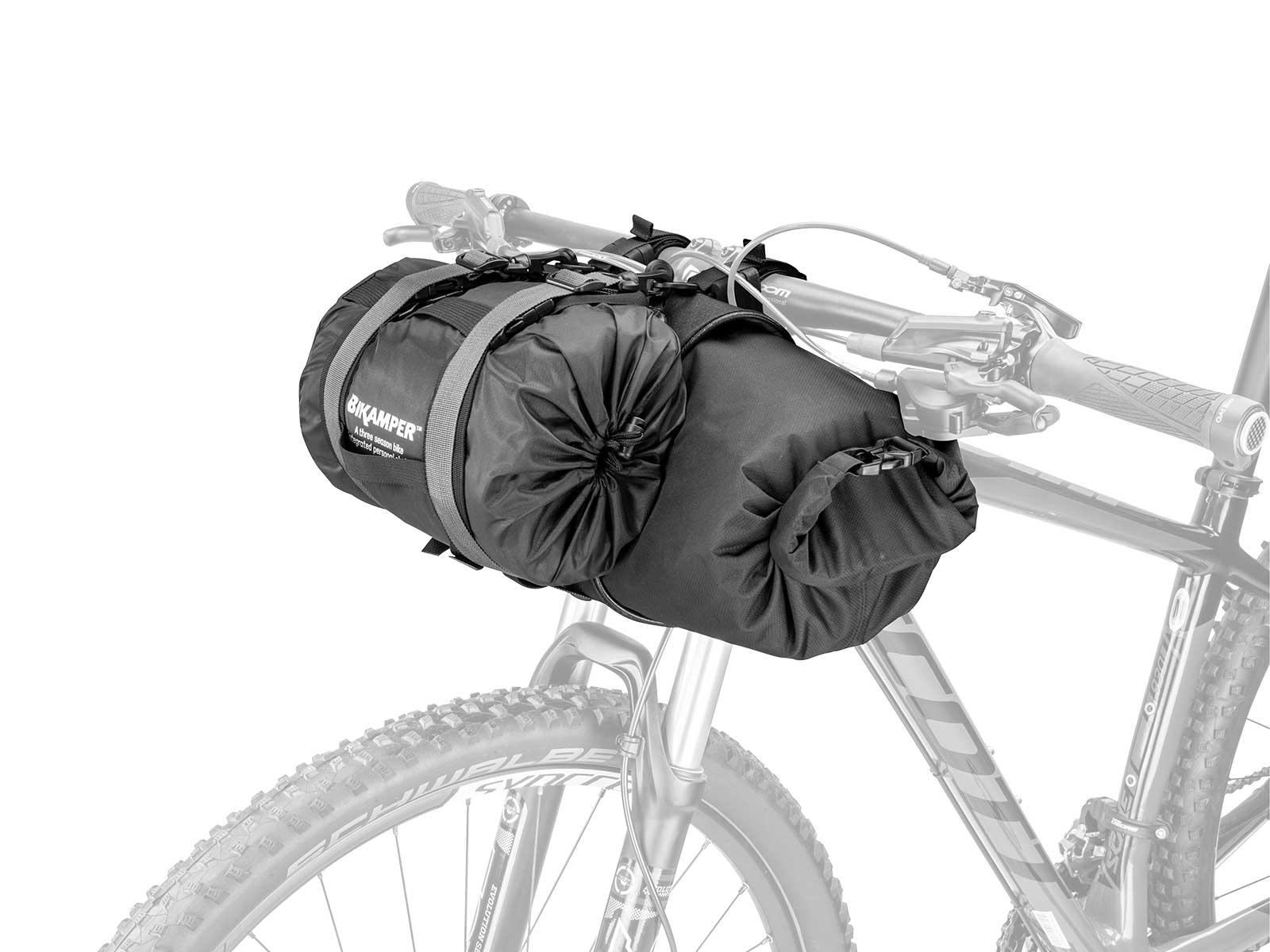 Topeak TBPFL1B Frontloader Handlebar Mount Bike Packing Camping Gear Bag Tour