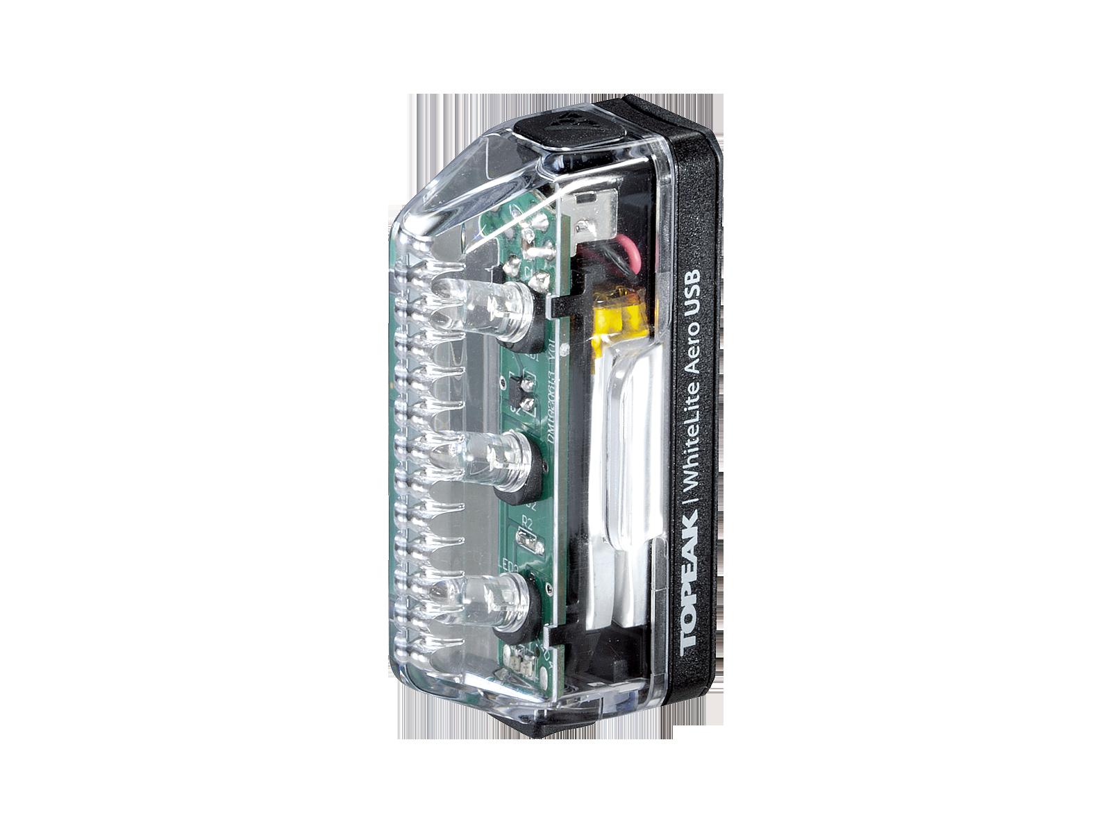 WHITELITE® AERO USB | Topeak