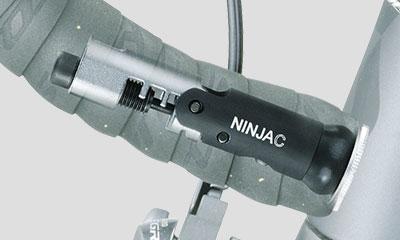 Wrench store inside Handlebar Bike Chain Tool Topeak TNJ-C Ninja C Hook