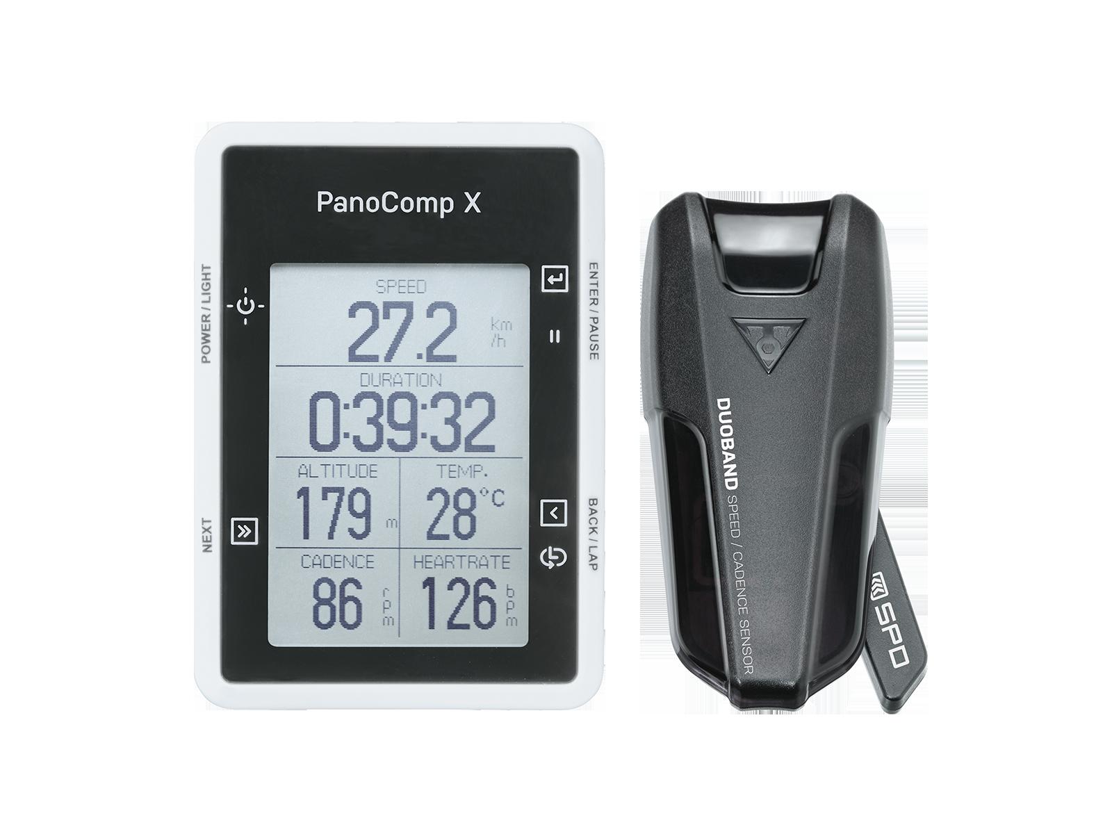 PANOCOMP X W/ SPEED & CADENCE SENSOR | Topeak