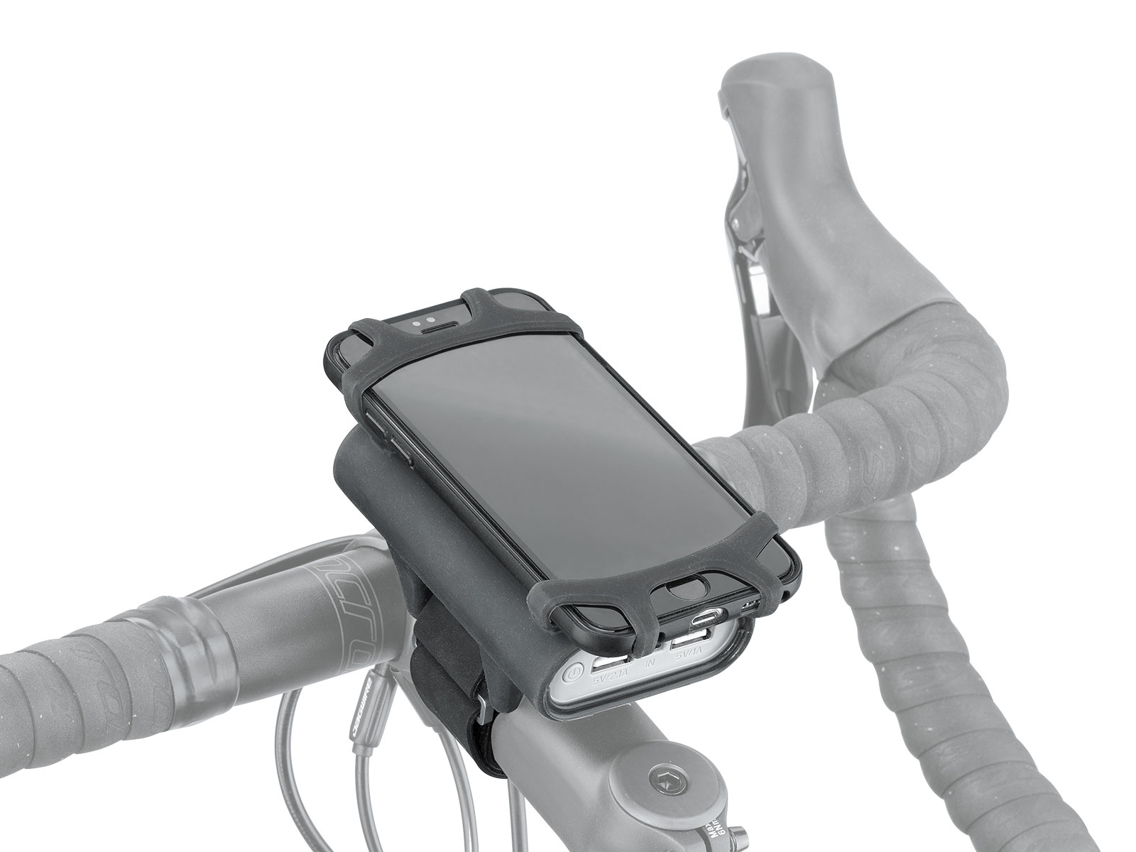 SMARTPHONE HOLDER WITH POWERPACK 7800 MAH | Topeak