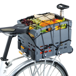 New Topeak Trolley Tote Basket Cargo Net